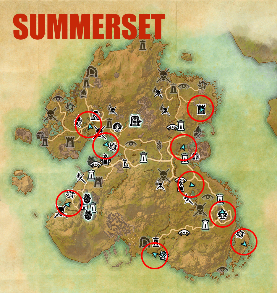 summerset map
